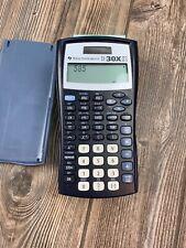 Texas Instrument Ti-30X Iis 2-Line Scientific Calculator w/Cover Solar Battery
