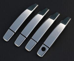 Chrome Door Handle Trim Set Covers To Fit Vauxhall / Opel Antara 4dr (2007-15)