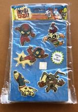 Sealed MUCHA LUCHA Sticker Lot 12 Packs 3D Quicksticks Activity Set Warner Bros