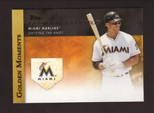 Giancarlo Stanton--2012 Topps Golden Moments--Miami Marlins