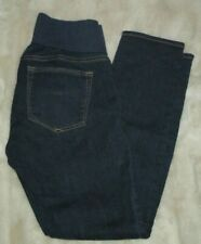 GAP 1969 26/2a Always Skinny Dark Wash Cotton Spandex Maternity Panel Jeans