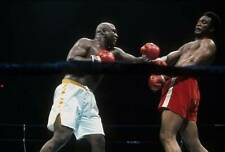 Old Boxing Photo Joe Frazier Throws A Punch Against George Foreman
