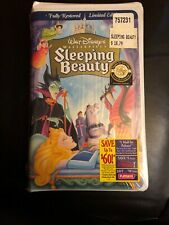 Walt Disney's Masterpiece SLEEPING BEAUTY Fully Restored Limited Edition VHS