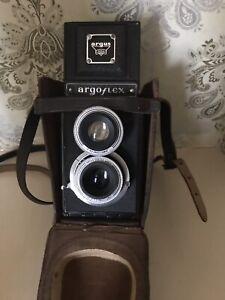 ARGUS Vintage Argo flex 75mm 4.5 Camera