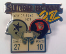 Vintage Super Bowl XII Starline Diet Coke Pin - Dallas Cowboys Vs Denver Broncos
