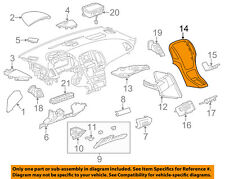 Buick GM OEM 14-15 Verano Instrument Panel Dash-Center Bezel 22982972