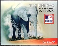"""South Africa 2010 """"The Big Five"""" self-adhesive booklet, SG.SB70, fine"""