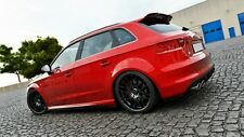 Cup Dachspoiler Heckspoiler schwarz für Audi S3 8V Sportback Spoiler Splitter