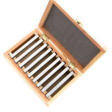 Präzision Parallelunterlagen 100 mm Fräsunterlagen 9 Paar | inkl. Holzbox