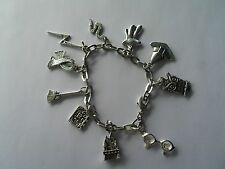 Wizard charm bracelet may interest Harry Potter fan in pillow box