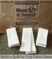 "20 – 2.5"" x 90"" (50 yds) Jelly Roll Rug Warm & Natural Batting Strips – Die Cut"