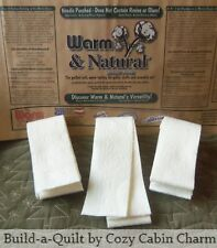 20 – 2.5� x 90� (50 yds) Jelly Roll Rug Warm & Natural Batting Strips – Die Cut