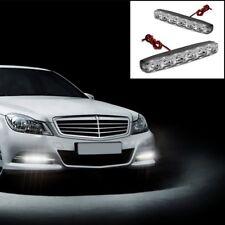 2X 6Led Car LED DRL Daylight Super Kit 12V Head Lamp Daytime Running White Light