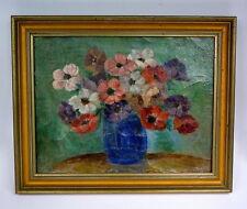 Gemälde im Rahmen Frankreich um 1900 Blumenstilleben Blumen