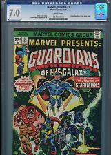 Marvel Presents #3  (1st solo GOTG)  CGC 7.0  WP