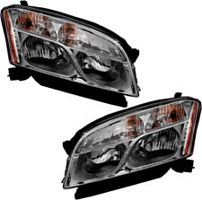 Halogen Headlights Headlight Assembly (w/Bulb) Pair Set for 2015-2016 Chevy Trax