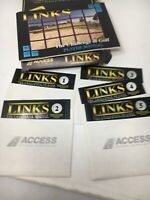 "Links Challenge of Golf IBM PC 5.25"" Floppy 1990-1992 Access Software Vintage"