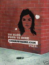 Publicité advertising 2007 Lagardère Publicité