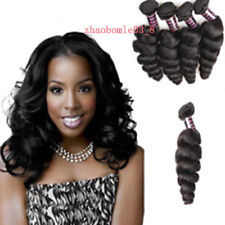 4Bundles /200g 100% Unprocessed Brazilian Loose Wave Human Hair Extension Weave