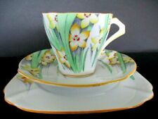 Art Deco / Vintage China Tea Set Trio.Bell China.Hand Painted.VGC.British.3387.
