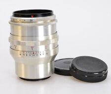Tessar 2.8/80 M42 CARL ZEISS JENA *Alu *16 Lamellen F/2.8 80mm ☆☆☆☆☆ RARE (S951