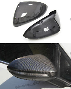 For Volkswagen VW Golf7 MK7 R Gti Carbon Fiber Mirror Housing Cover 2014 2015 +