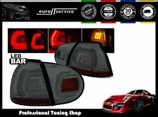 NUOVO COPPIA FANALI FARI POSTERIORI LDVWA2 VW GOLF 5 10.2003-2009 SMOKE LED BAR