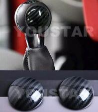UK STOCK 2x Carbon Effect MT Gear Knob Badges MINI Cooper Countryman F56 F57 F60