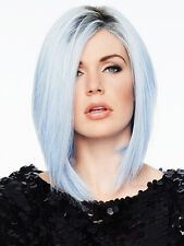 OUT OF THE BLUE Wig by HAIRDO, Gorgeous Rooted Blue Sky Color! Angled Bob, NEW