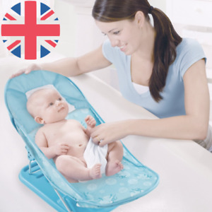 Deluxe Foldable & Adjustable Home & Travel Baby Bath Bather Shower Seat Chair
