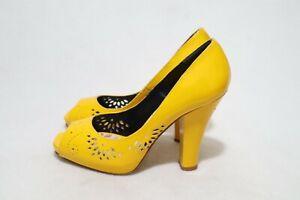 Made in Macedonia ALDO Size 6 Women's Peep Toe Heels RRP $169.95