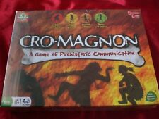 Cro-MagnoAn:  A Game of Prehistoric Communication Board Game-New!