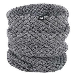 New Balance Warm Up Knit Snood - Athletic Grey Heather NEW