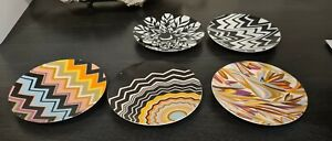 Missoni Side Plates 15cm Stoneware - Abstract Patterned