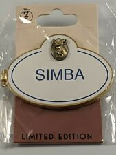 Disney DEC The Lion King Simba Cast Member Name Tag Limited Edition Pin
