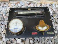 Milli Ampere G.Wohlmuth&Co Stromanzeiger Amperemeter historisches Messwerkzeug