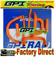 GPI silicone radiator hose for KTM LC4 620 625 640 660 orange