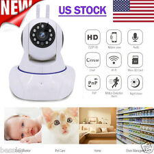 Wireless Two-Way Audio Chatting Baby WiFi IP Pan Security Camera Night Vision