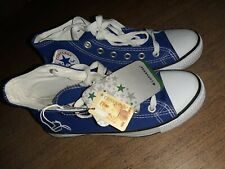 Converse All Star High Tops Blue Unisex Chuck Taylor Canvas Trainers Size 6 NEW
