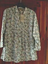 cotton blouse size 14 bnwt