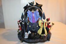 Walt Disney Villains Musical Snowglobe Maleficent Captain Hook Evil Queen Ursula