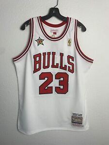 Mens Mitchell &Ness NBA Chicago Bulls Michael Jordan 1997 All Star Vintage (L)
