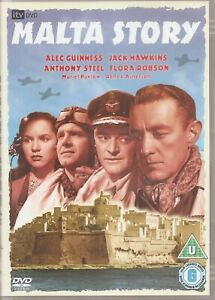 The Malta Story - Alec Guinness Jack Hawkins (DVD, 2004)