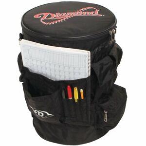 Diamond Sports Bucket Organizer Sleeve Baseball/Softball Black