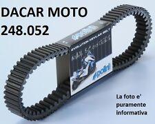 248.052 COURROIE VARIATEUR POLINI KEVLAR PIAGGIO X 9 18 - VESPA 200 GT
