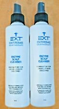 2 NEW EXT Extreme Hair Therapy Enzyme Scalp Cleanser Thinning Hair 6fl oz ea