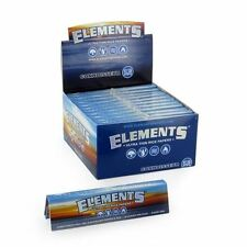 Elements Rolling Paper King Size Slim Ultra Thin Rice Paper Full box of 50