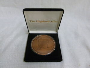 Mark Mcgwire 1998 St Louis Cardinals Highland Mint 1/2 Troy Pound Copper Coin 70