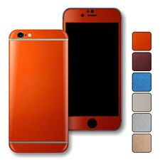 GLOSSY METALLIC Skin Wrap Sticker Decal Protector for iPhone 6 & 6 Plus
