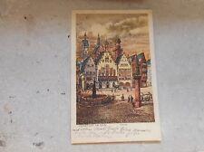 Zwischenkriegszeit (1918-39) Lithographie mit Burg & Schloss für Architektur/Bauwerk